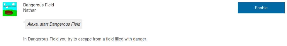 dangerousFieldSkill